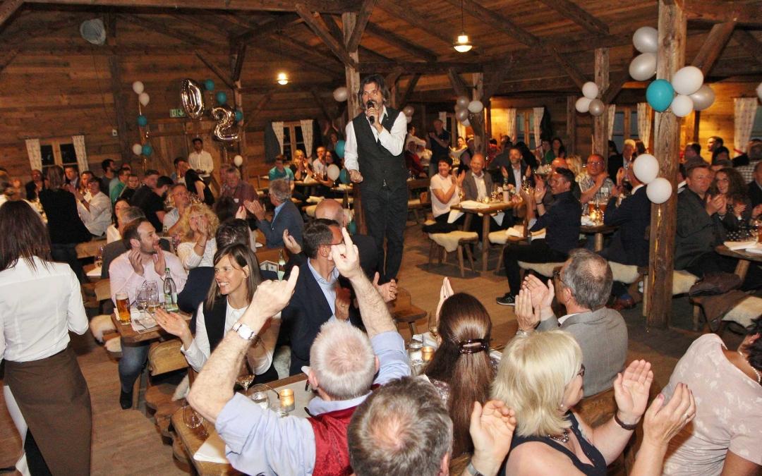 Sommerfest – Walzen Maier feiert mit De la Cream durch die Nacht