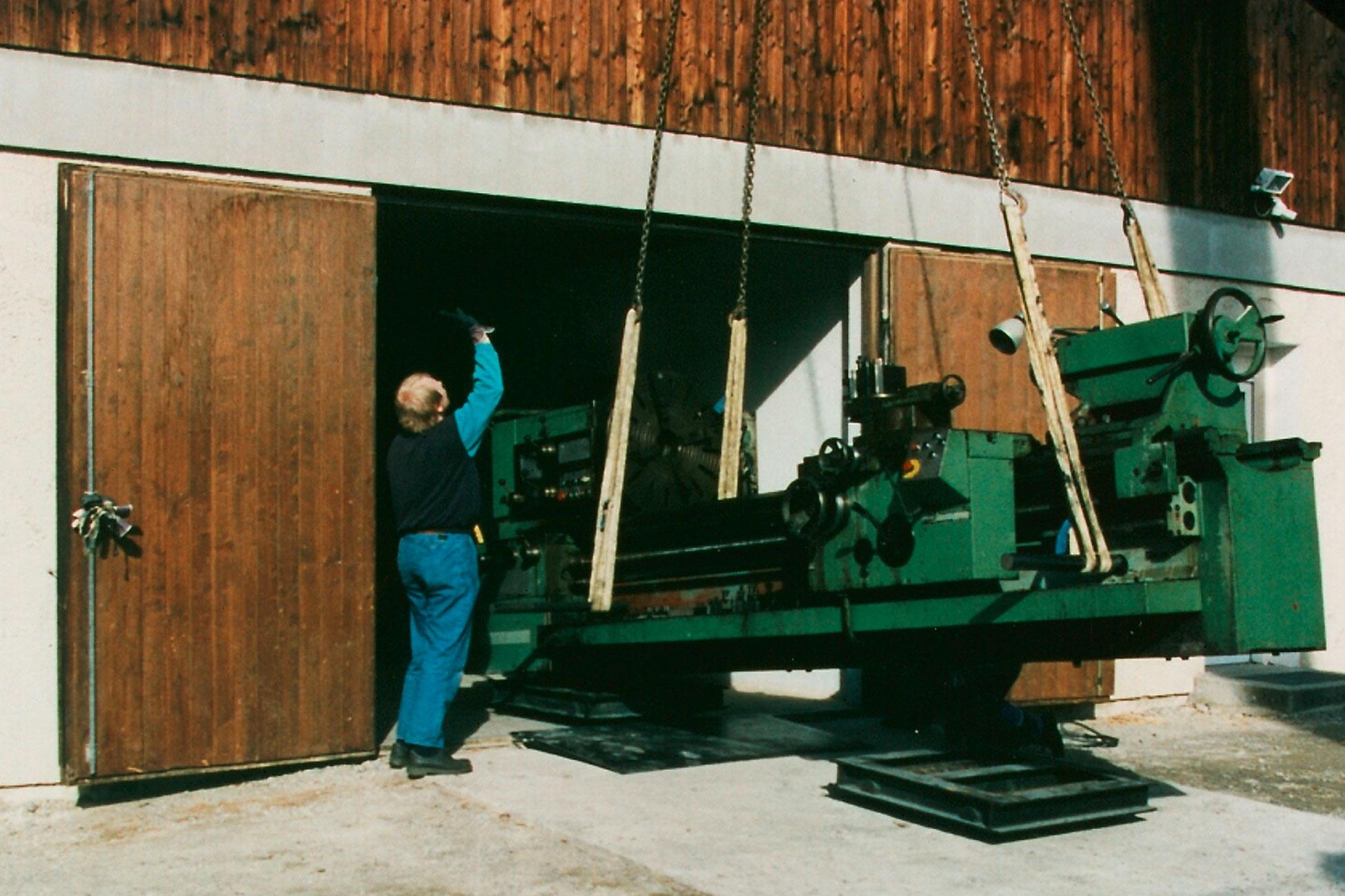 historie1998-erste-maschinen
